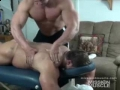 Skye Woods and Frank Defeo in Massage